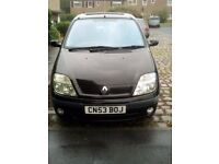 Renault megane scenic automatic