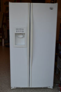 GE Profile Arctica™ 25.4 Cu. Ft. Side-By-Side Refrigerator