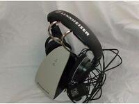 Sennheiser TR120 II Wireless Headphones - As New - 300 feet range not sony, bluetooth