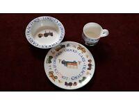Emma Bridgewater plate, cup & bowl