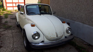 1977 Beetle Convertible in working order