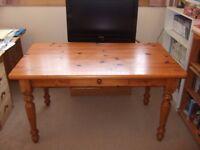 Large Pine Kitchen Table