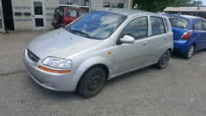 SAFTIED LOW KMS 2004 AVEO