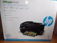 HP Officejet 4630 Wireless Printer scanner copier new boxed SHIPDHAM not Thetford