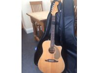 Fender Sonoran Acoustic Guitar - reduced price.