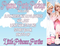 Little PRINCESS PARTIES! Over 20 High Quality Characters!