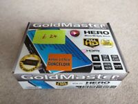 Goldmaster Hero Micro HD Sattellite Receiver