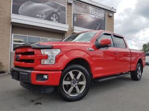 2015 Ford F-150 Lariat, 20'', 5.0L, Toit pano, 502A