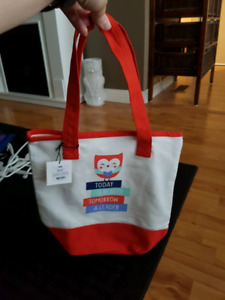 Chapters/Indigo canvas bag brand new with tags $5