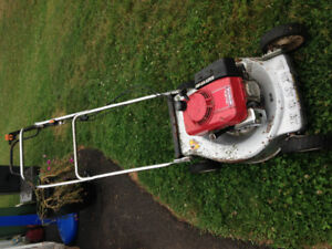 2 Honda Self Propelled Lawn Mowers