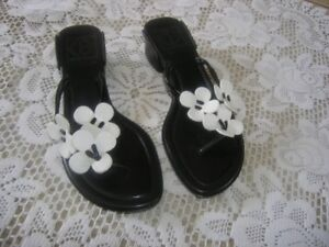 """""""COLE HAAN"""" BLACK SANDALS - MADE IN BRAZIL"""