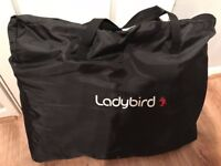 Ladybird High Chair - Black - New