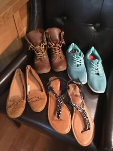 Women's Size 4, 5, 6 & Size9 Shoes Sandals and Boots