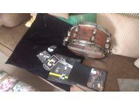 Mapex Warbird 12 x 5.5 snare drum, 9.5/10 condition, Chris Adler