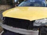 Audi A3 2003 2004 Bonnet