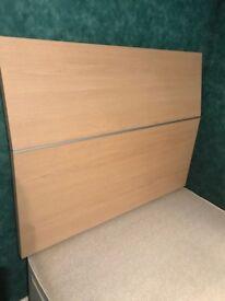 Lovely beech wood headboard