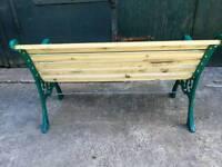 Heavy duty Cast iron benchs