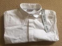Boys white shirt - brand new with labels
