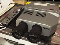 Slide Projector - Twin Changeover lens, Rolleivision MSC 300