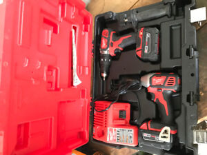 Milwaukee Impact driver and drill