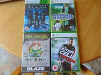 Xbox 360, PC, Ps1 Games x 10 (please see pics)