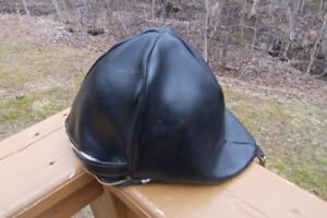 Vintage Horse Riding Hat with Carry Bag!