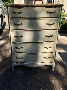 4 Antique/vintage French Provincial Tallboys-$150.00 each