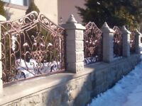 Wrought Fances and Gates from £230/sqtm - Vine Grapes