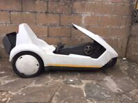 Classic Retro Sinclair C5 Electric Car / Tricycle (Bike) - 80's Battery Operated RARE !!! Must See!!