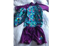 Girls size 4 swim suit