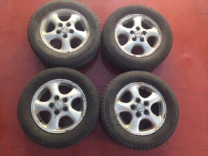 OEM Lexus Alloy Wheels & Michelin Winter Tires