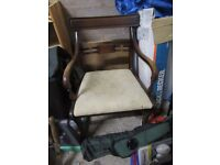 Vintage good quality carver style chair
