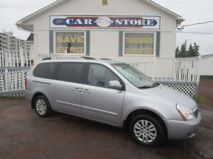 2011 Kia Sedona LX 7 PASS REAR STOW AWAY SEAT