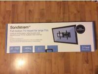 New Sandstrom Full Motion TV mount for large TVs