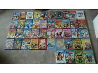 44 children's dvds