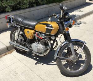 1973 Honda CB350 - with Safety and UVIP