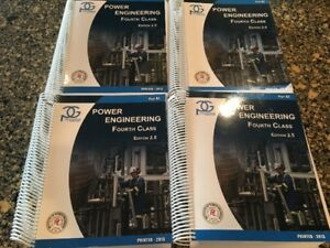 4th Class Part A and B Power Engineering Books