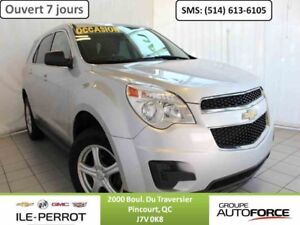 2011 CHEVROLET Equinox AWD LS, MAGS, CRUISE,