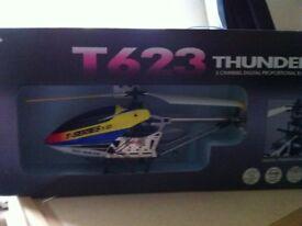 Thunderbird helicopter