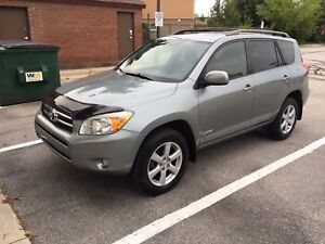 2008 TOYOTA RAV4 LIMITED 4WD NO ACCIDENTS CERTIFIED