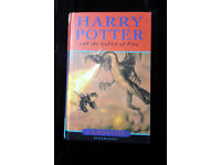 HARRY POTTER & The Goblet of Fire Hardback First Edition – RARE OMNIA PRINT HOUSE