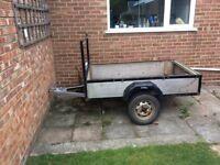 Car trailer 6x4