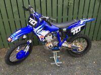 Yamaha, Honda.Yz400f evo , complete restoration, Yamaha nos parts. Best available.