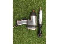 1/2 inch impact gun and ratchet