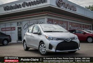 2016 Toyota Yaris SEULEMENT 2 EN INVENTAIRE!!!! HURRY!!!!