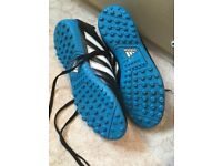 UK Size 6 adidas football boots for astro.