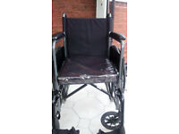 Manual, fixed armrest wheelchair, £30 ONO, in Bury, Manchester