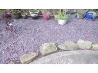 Blue grey slate gravel for free