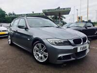 2010 BMW 320d M Sport Touring Estate Grey **Full Leather - Full BMW Service**