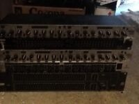 Assorted outboard gear. Compressors eq's etc.
